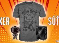 Súťaž o exkluzívne balenie figúrky Funko Pop Joker spolu s tričkom