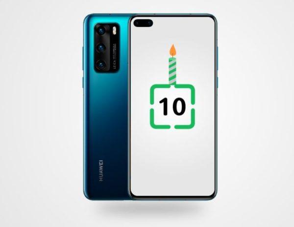 Súťaž o horúcu novinku – smartfón Huawei P40