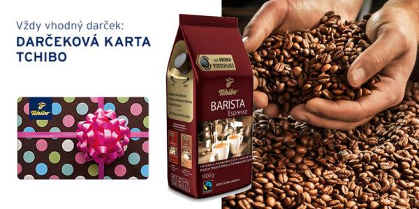 Súťaž o kávu Tchibo Barista Espresso (500g) a Tchibo poukážku v hodnote 10 Eur
