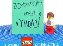 Súťaž o poukážky na LEGO v hodnote 30, 50 a 100 EUR