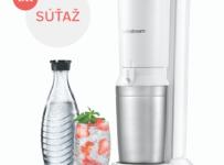 Súťaž o prístroj na výrobu perlivej vody SodaStream Crystal White
