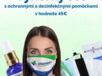 Súťaž o set rúšok, respirátora a dezinfekčných prostriedkov