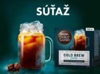 Súťaž o kávovar Lumio, kávu Cold Brew, stojan na kapsuly a šálky Grande