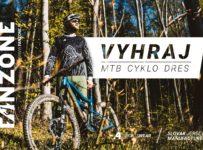 Vyhraj MTB cyklo dres A4ka podľa vlastného výberu