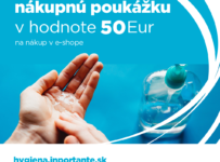 Vyhraj nákupnú poukážku v hodnote 50€