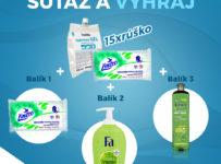 Vyhrajte 1 z 3 antibakteriálnych balíčkov