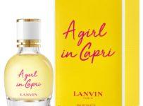 Vyhrajte značkový parfum A GIRL IN CAPRI od LANVIN
