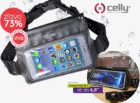 Zľava -73% na univerzálny športový obal na mobil Celly