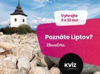 Súťažné kvízy o Slovensku, vyhrajte 3 x 22 €