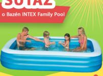 Letná súťaž o bazén INTEX Family Pool