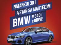 Natankuj 30l a vyhraj BMW M340 xDrive
