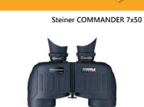 Súťaž o ďalekohľad Steiner COMMANDER 7x50