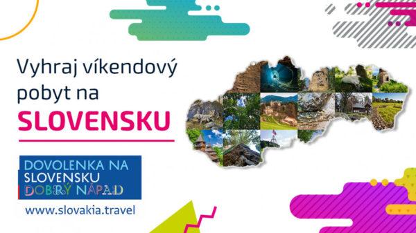 Súťaž o 3 víkendové pobyty od Slovakia Travel