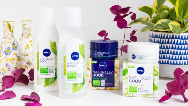 Súťaž o 4 balíčky novej pleťovej kozmetiky Nivea NATURALLY GOOD