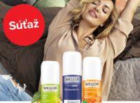 Súťaž o 4 balíčky prírodných dezodorantov od značky Weleda
