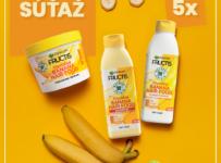 Súťaž o 5 vyživujúcich banánových balíčkov Hair Food od Garnier