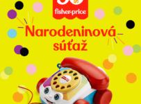 Súťaž o 5x Ťahací telefón Fisher-Price