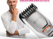 Súťaž o ECG zastrihávač brady, fúzov a vlasov