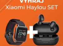 Súťaž o Xiaomi Haylou SET, obsahujúci smart hodinky Haylou LS01 a bezdrôtové slúchadlá Haylou GT1 Pro