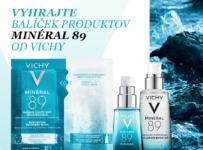Súťaž o balíček produktov Minéral 89 od Vichy