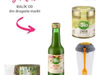 Súťaž o balík skvelých produktov značky dmBio od dm drogerie markt