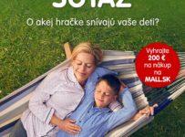 Súťaž o darčekový poukaz v hodnote 200€ do MALL.SK