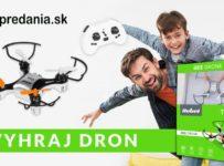 Súťaž o detský dron na diaľkové ovládanie