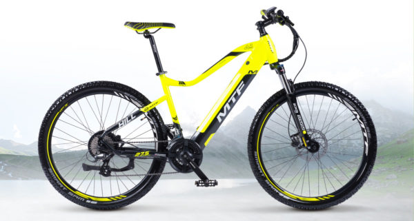 Súťaž o horský elektrobicykel MTF HILL 4.1