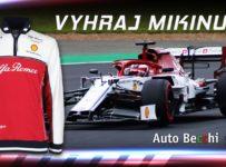 Súťaž o mikinu F1 Alfa Romeo