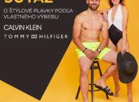 Súťaž o plavky prémiových značiek Calvin Klein alebo Tommy Hilfiger