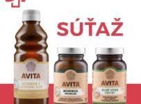 Súťaž o prírodné doplnky výživy AVITA