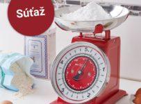 Súťaž o retro kuchynskú váhu od Möbelix