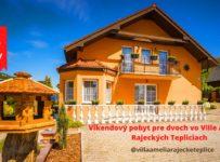 Súťaž o víkendový pobyt vo Villa Amelia, Rajecké Teplice