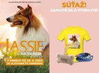 Súťaž s LASSIE SA VRACIA so súťažou o filmový balíček