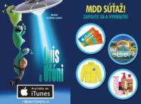 Súťaž s filmom Luis a ufóni, portálom Kinosála
