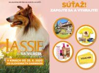 Súťaž s filmom o legendárnom psovi LASSIE SA VRACIA