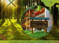 Vyhraj víkendový pobyt pre 4 osoby v Horskom hoteli Bartoška