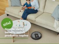 Vyhrajte ľubovolný iRobot na mesiac zadarmo