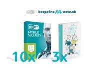 Vyhrajte 10x licenciu ESET Mobile Security a 3x knihu