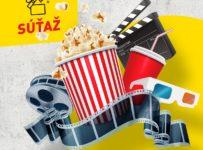 Vyhrajte v súťaži 3 x 2 lístky do kina siete CINEMAX