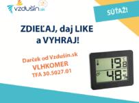 Vyhrajte vlhkomer od Vzdušín.sk