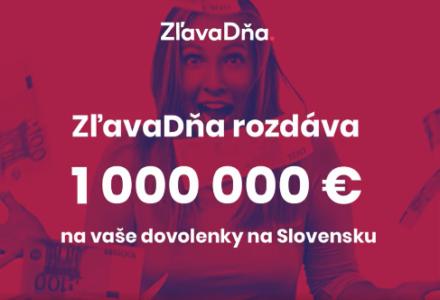 ZľavaDňa rozdáva 1 000 000 €