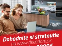 Dohodnite si stretnutie v Decodome a vyhrajte ceny v hodnote až 3.000€
