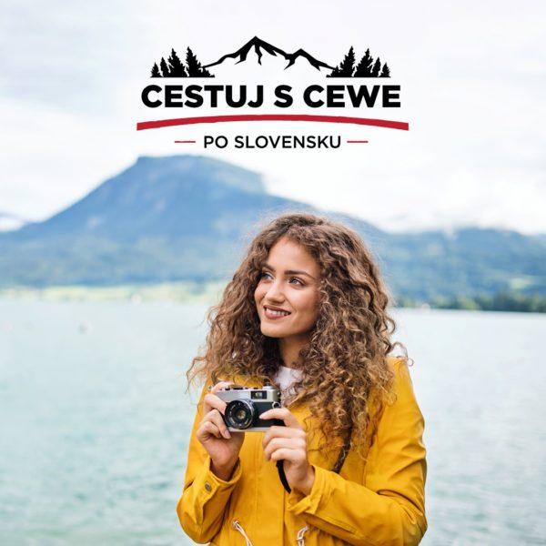 Letná fotosúťaž Cestuj s CEWE po Slovensku
