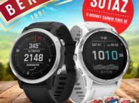 Súťaž o špičkové športové hodinky Garmin Fenix 6S
