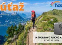 Súťaž o športovú akčnú kameru Ezvis S2