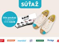 Súťaž o 100 € poukazy na štýlové udržateľné tenisky KAVE