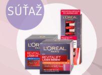 Súťaž o 15 balíčkov obsahujúcich produkty Revitalift od L'ORÉAL PARIS