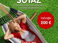 Súťaž o 200 € voucher na nákup na MALL.SK