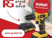 Súťaž o AKU Skrutkovač Power Plus